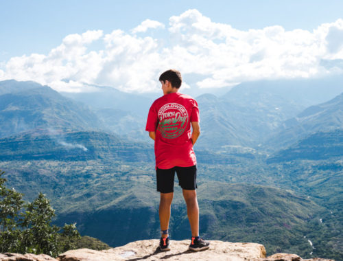 Travel Colombia with a teen trip barichara