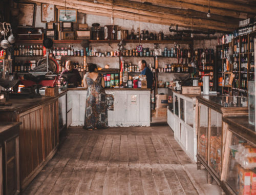 Cabo Polonio Uruguay food shop old fashioned typical