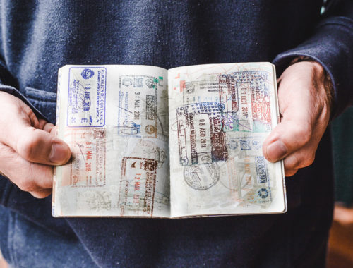 Life admin before you travel full-time   how to travel the world as a digital nomad prep   Travel insurance technology   visas