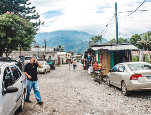 Peña Blanca Lake Yojoa Honduras small mountain town