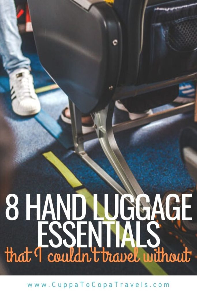 hand luggage essentials for long haul flights packing list