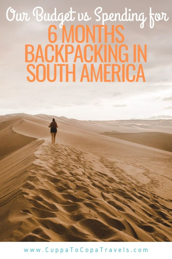 budget for backpacking south america peru