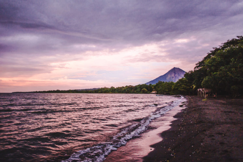 Things to do on Ometepe Island   Nicaragua travel sunset punta jesus maria