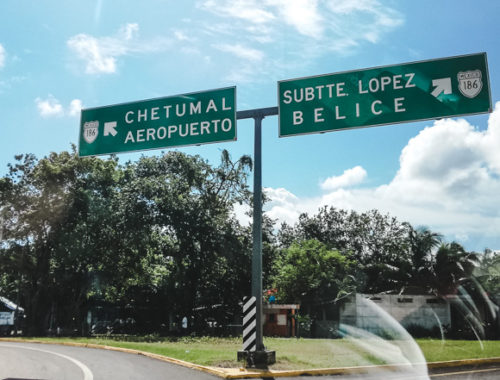How to get from Bacalar to Caye Caulker, Belize from Mexico journey routes