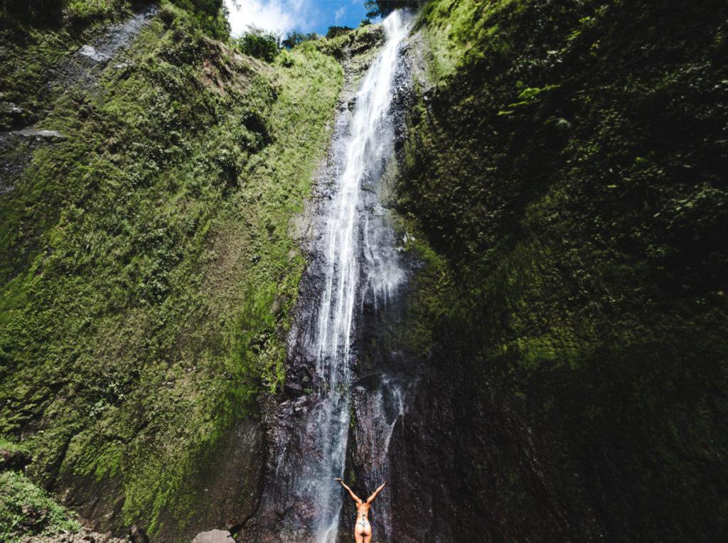 Things to do on Ometepe Island   Nicaragua travel cascada San Ramon waterfall